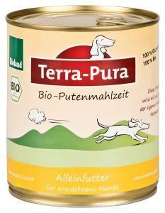 Terra-Pura Bio-Putenmahlzeit Hund 800 g