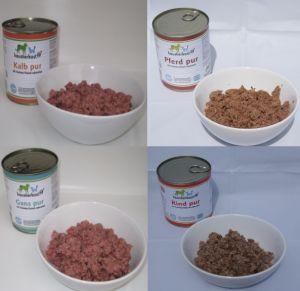 Fleisch in Dosen Probe D