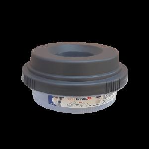 Tilty Bowl Trinknapf M ca. 0,6l Graubraun, 1 Stück